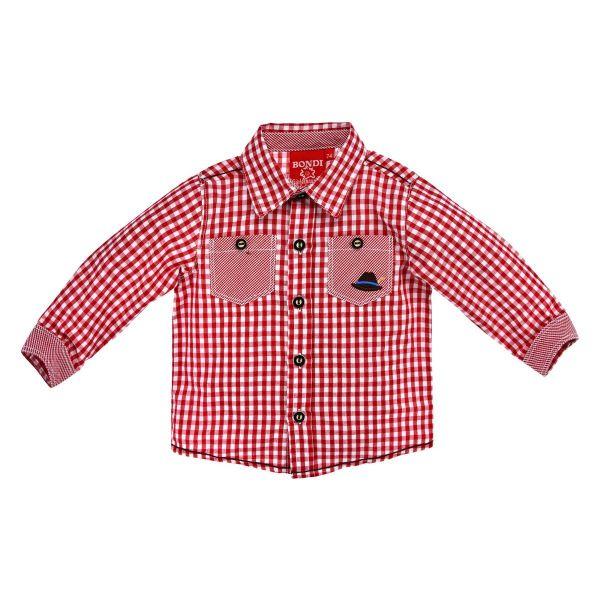Kinder und Baby Trachtenhemd langarm von Bondi