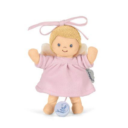 Sterntaler Spieluhr Schutzengel in Rosa - Taufgeschenk für Baby Mädchen
