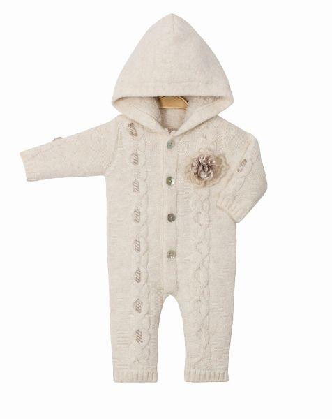 Baby Plüsch Overall Mädchen für den Winter - Cassiope Baby