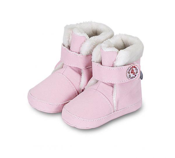 Babystiefel rosa Sterntaler